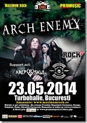 Arch Enemy @ Turbohalle 23.05.2014