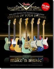 "Concurs ""Guitar Of Your Dreams"""