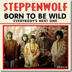 """Steppenwolf """"Born To Be Wild"""" 45 Single Cover"""