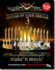 Concurs Guitar Of Your Dreams 3