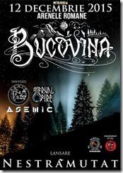 Bucovina lanseaza noul album pe 12 Decembrie
