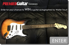 Concurs Premier Guitar și Walter Trout/MLG