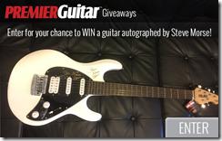 Concurs Premier Guitar și Steve Morse/MLG