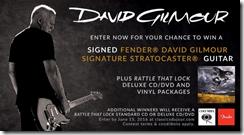 Concurs Classics Du Jour - David Gilmour