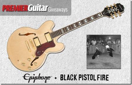Concurs Black Pistol Fire & Premier Guitar