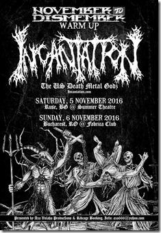 Incantation Live @Fabrica