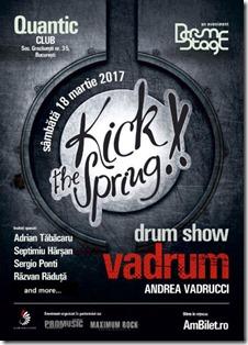 Kick the Spring  - DrumStage se întoarce cu o noua ediție în martie