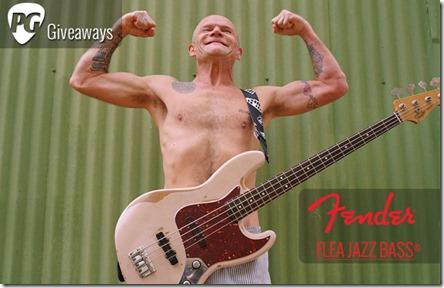Concurs Premier Guitar Fender Flea Jazz Bass