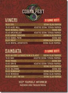 Cobra Fest - Program