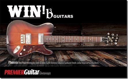 Concurs B3 Premier Guitar