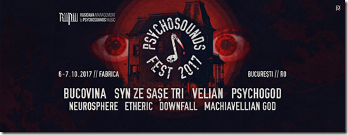 Psychosounds Fest 2017
