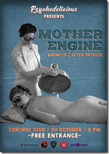 Psychedelicious presents Mother Engine