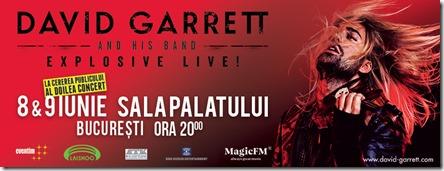 David Garett la București
