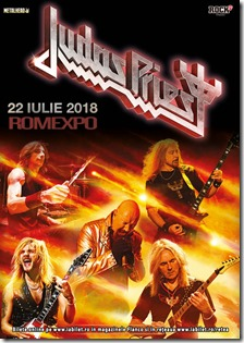 Judas Priest Romexpo 2018