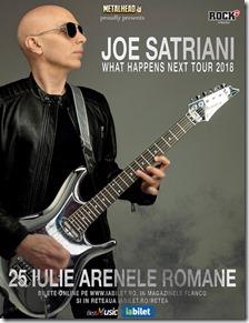 Joe Satriani @Arenele Romane