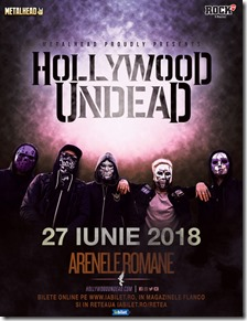 Hollywood Undead la Arenele Romane