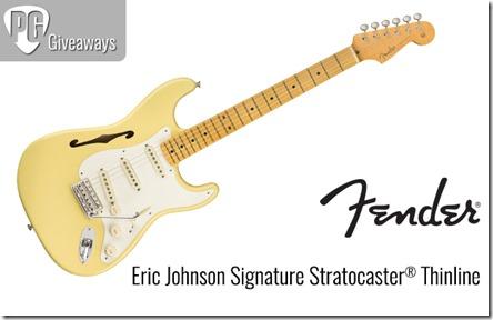 Concurs Fender Eric Johnson Stratocaster