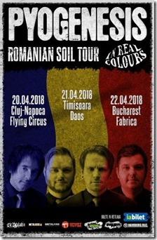 PYOGENESIS prezintă Romanian Soil Tour 2018
