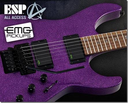 Concurs ESP Kirk Hammett