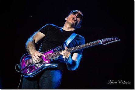Joe Satriani la Arenele Romane, by Anca Coleașă, 2018