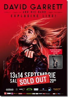 David Garrett SOLD OUT