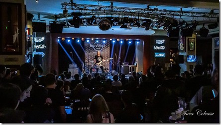 David Ellefson Basstory @Hard Rock Cafe 2019, by Anca Coleașă
