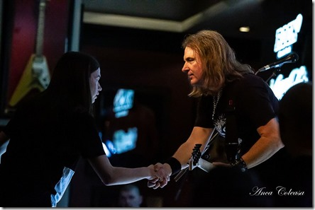 David Ellefson Basstory @Hard Rock Cafe 2019, by Anca Coleașă