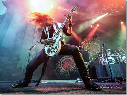 Joel Hoekstra with Whitesnake in Bucharest 2019, by Anca Coleașă