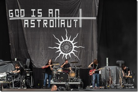God Is An Astronaut @Rock The City 2019, by Anca Coleașă
