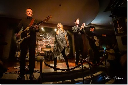 Hooverphonic @Hard Rock Cafe Bucharest 2019, by Anca Coleașă