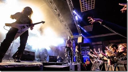 Taake @Metal Gates Fest 2019, by Anca Coleașă
