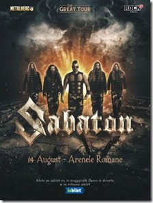 SABATON---The-Great-Tour-pe-14-August-la-Arenele-Romane