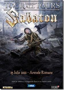 SABATON---The-Great-Tour-pe-14-August-la-Arenele-Romane